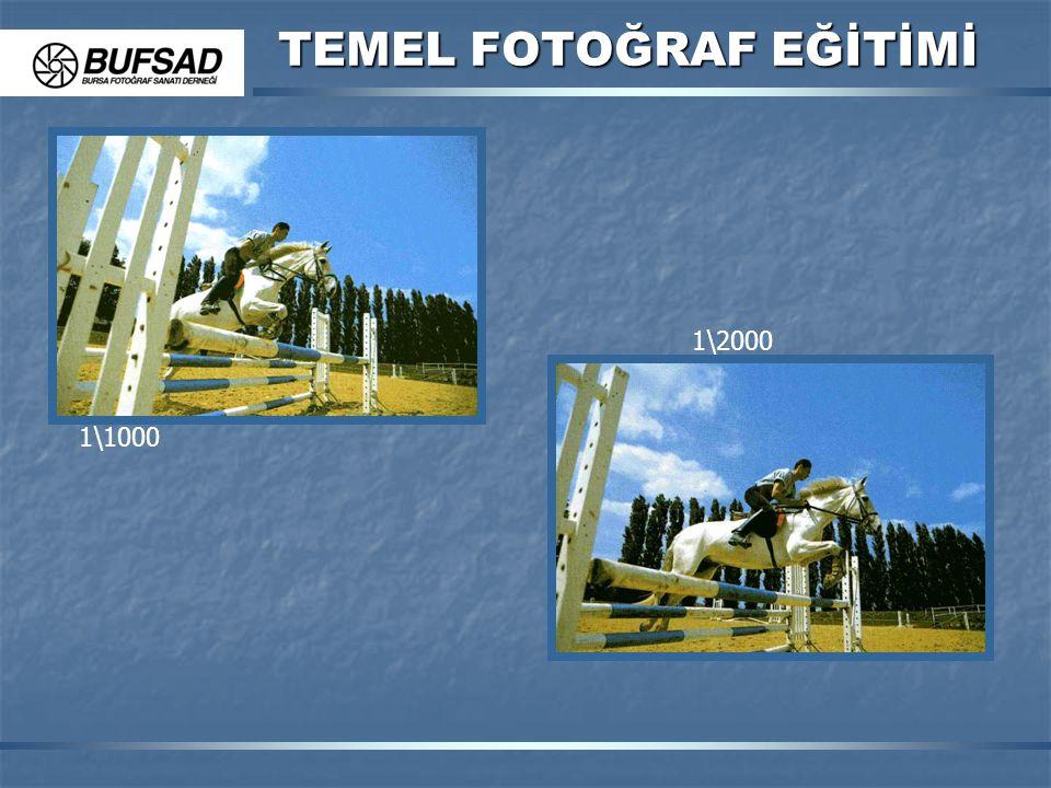 TEMEL FOTOĞRAF EĞİTİMİ 1\1000 1\2000