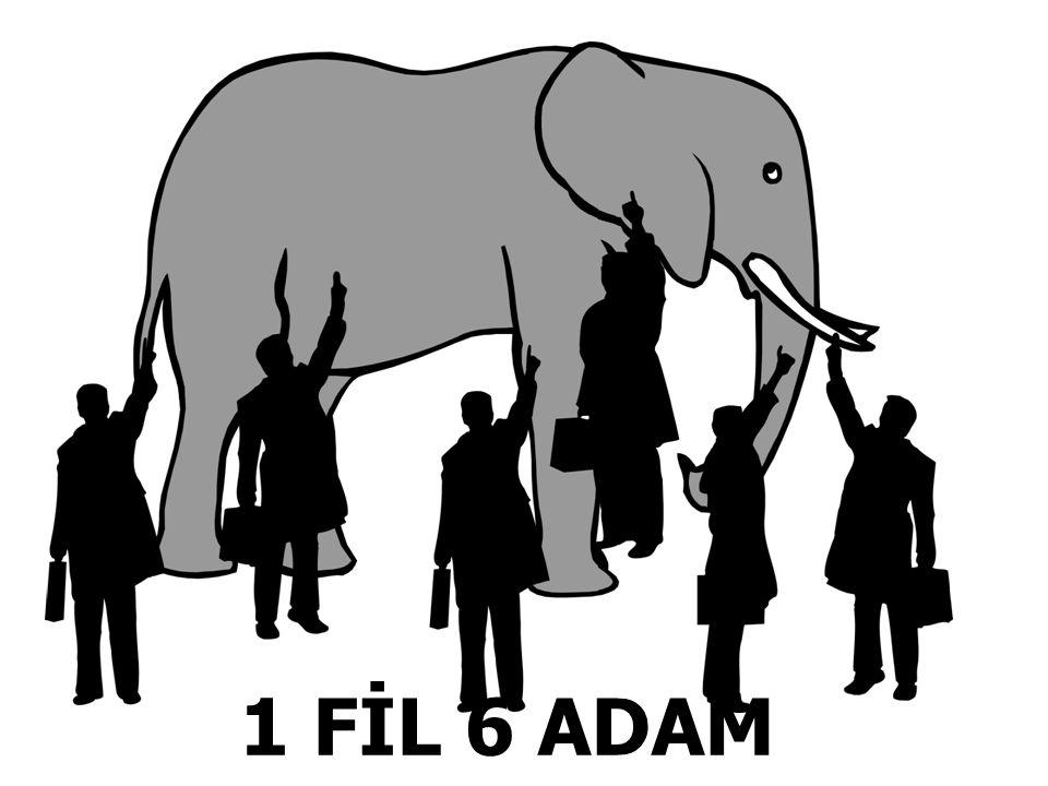 1 FİL 6 ADAM