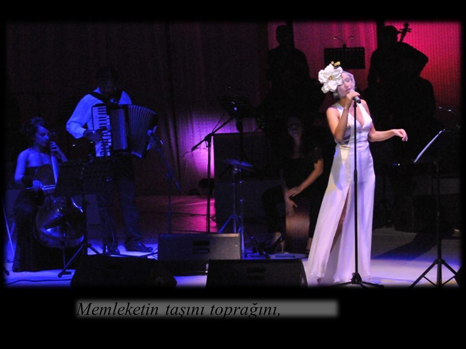 Bu Toprakların Kızı… 29.9.2012, Harbiye Açıkhava Tiyatrosu