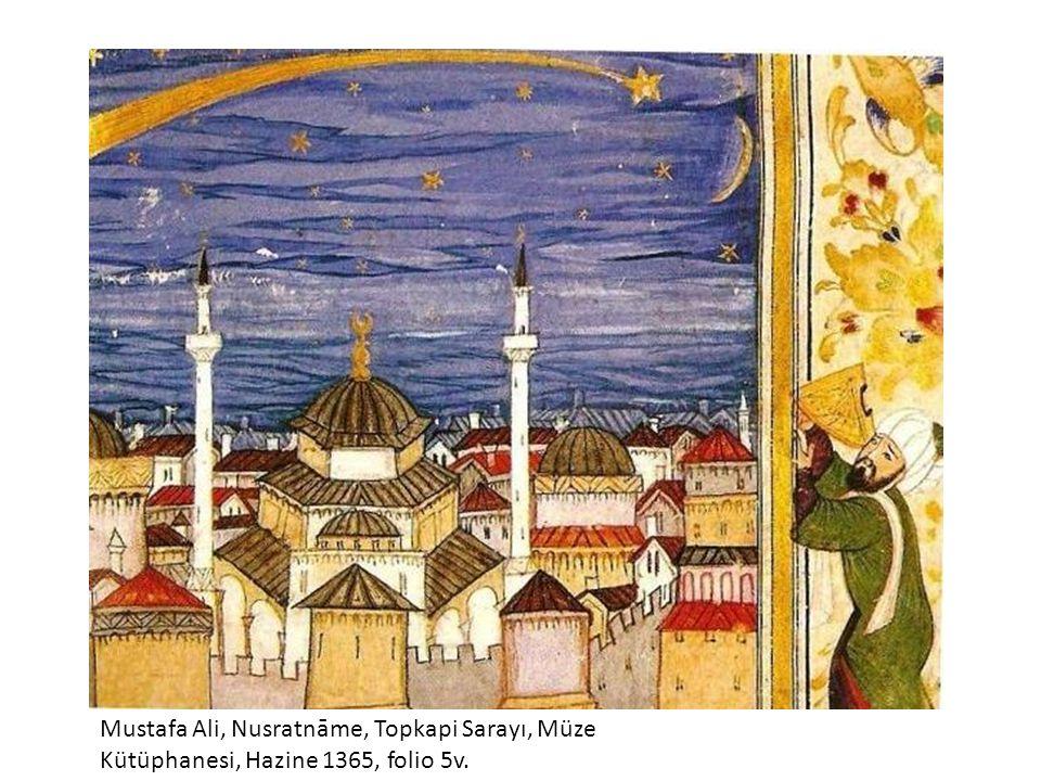 Mustafa Ali, Nusratnāme, Topkapi Sarayı, Müze Kütüphanesi, Hazine 1365, folio 5v.