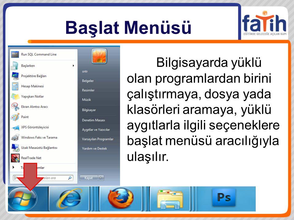 Dosya ve Klasör İşlemleri Dosyalar, çeşitli programlara ait, yazı, ses, resim, çizim, video gibi verilerin saklandığı bileşenlerdir, her dosya varsayılan olarak ilişkili olduğu programla birlikte çalışır.