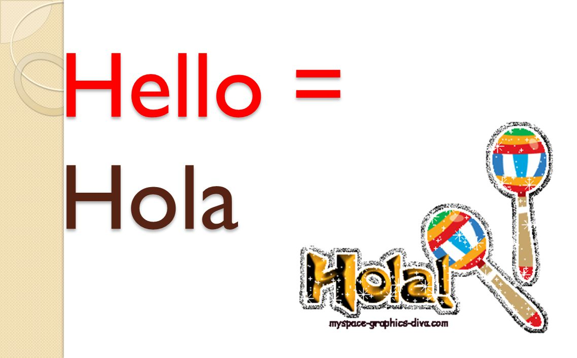 Fatal = Terrible Example sentence: !Hola! Qué Tal? Fatal! Which means?...