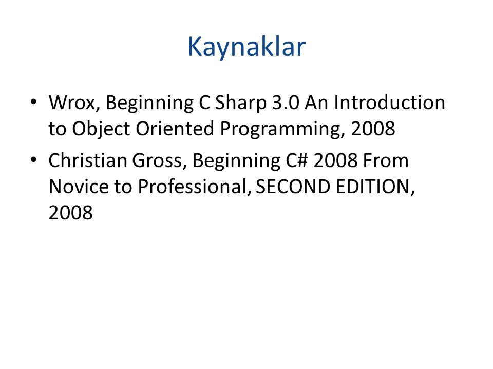 Nesne Yönelimli Programlama (Object-Oriented Programming) Bilgisayar programının, nesneler ve aralarındaki ilişkiler biçiminde yapılandırılmasıdır.
