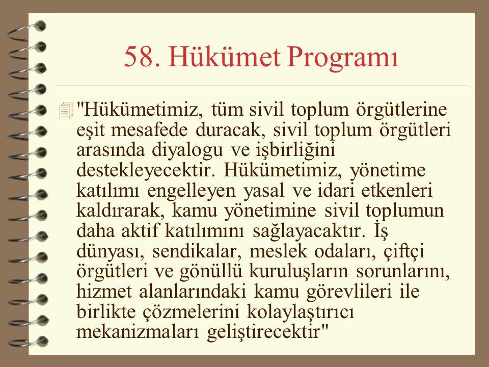 58. Hükümet Programı 4