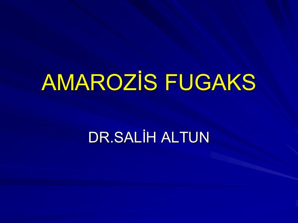 AMAROZİS FUGAKS DR.SALİH ALTUN