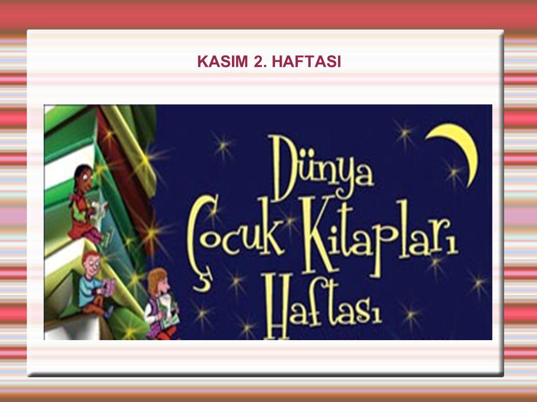 KASIM 2. HAFTASI
