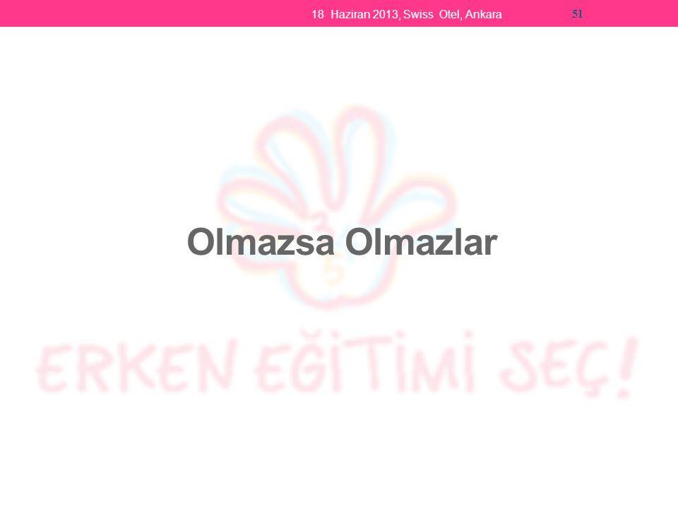 Olmazsa Olmazlar 18 Haziran 2013, Swiss Otel, Ankara 51