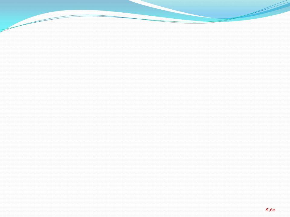 YAĞLAR Doymuş Yağ Asitleri Tereyağı Kuyruk yağı Tekli Doymamış Yağ Asitleri Zeytinyağı Balık yağı Fındık yağı Çoklu Doymamış Yağ Asitleri Soya yağı Ayçiçek yağı Mısırözü yağı 9\60