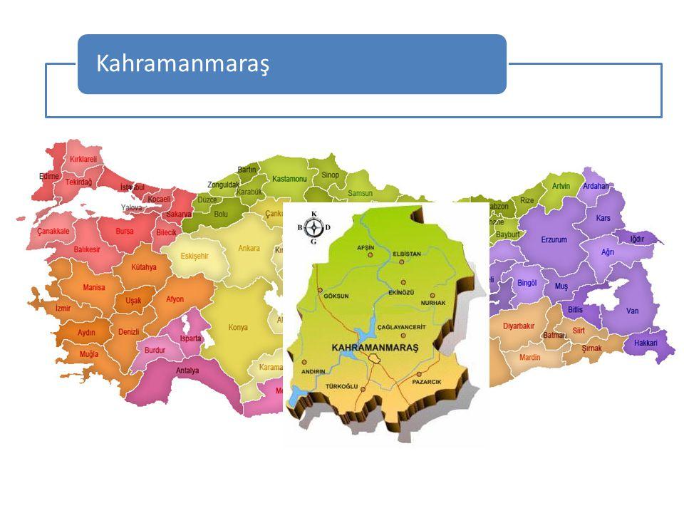 KAHRAMANMARAŞ Kahramanmaraş