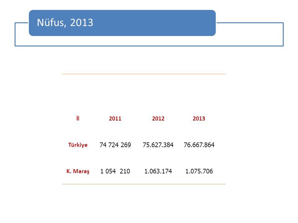 2013 İl geneli banka şube sayısı 81'dİr.