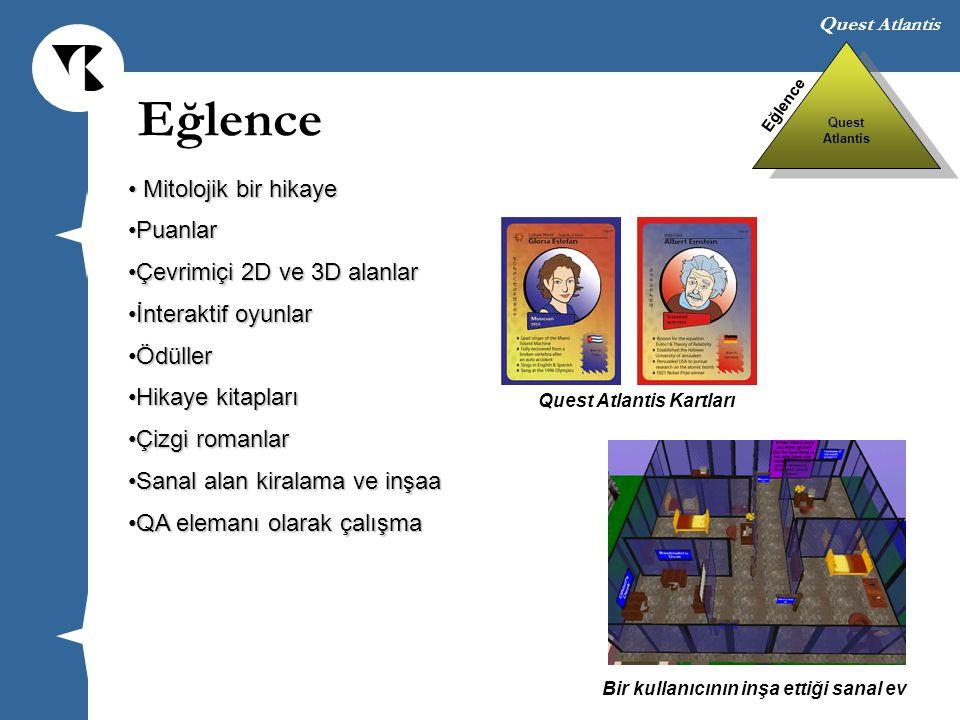 Quest Atlantis Mitolojik bir hikaye Mitolojik bir hikaye PuanlarPuanlar Çevrimiçi 2D ve 3D alanlarÇevrimiçi 2D ve 3D alanlar İnteraktif oyunlarİnterak