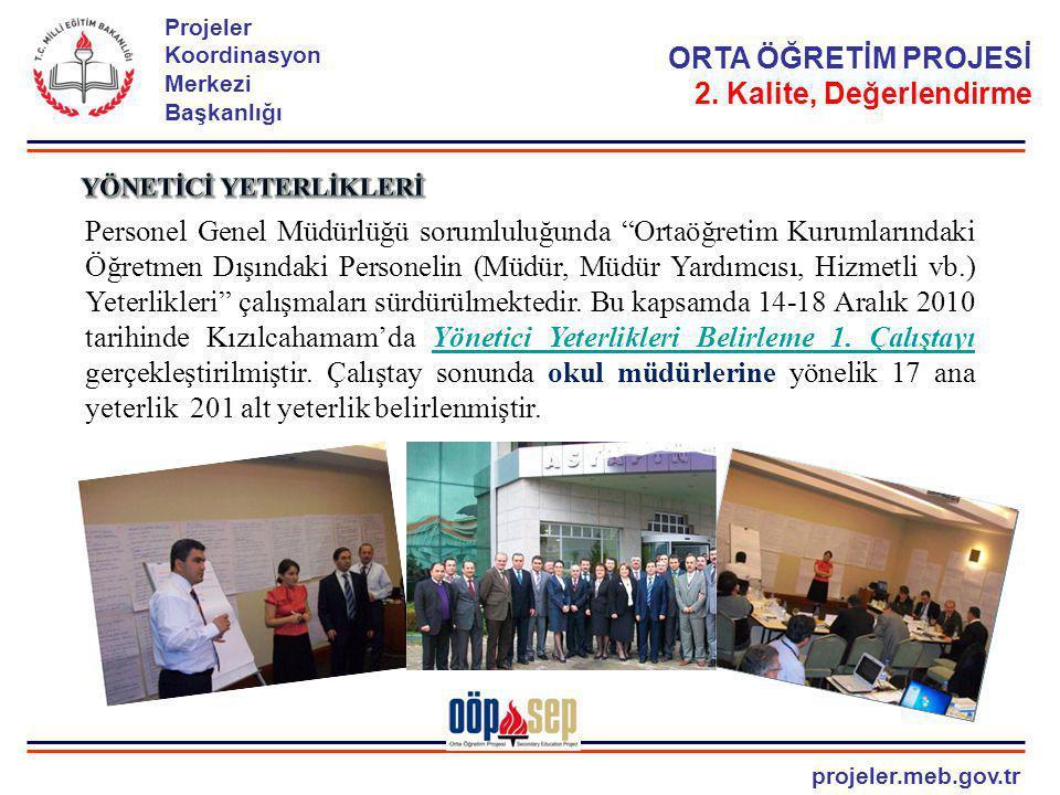 """projeler.meb.gov.tr Projeler Koordinasyon Merkezi Başkanlığı Personel Genel Müdürlüğü sorumluluğunda """"Ortaöğretim Kurumlarındaki Öğretmen Dışındaki Pe"""