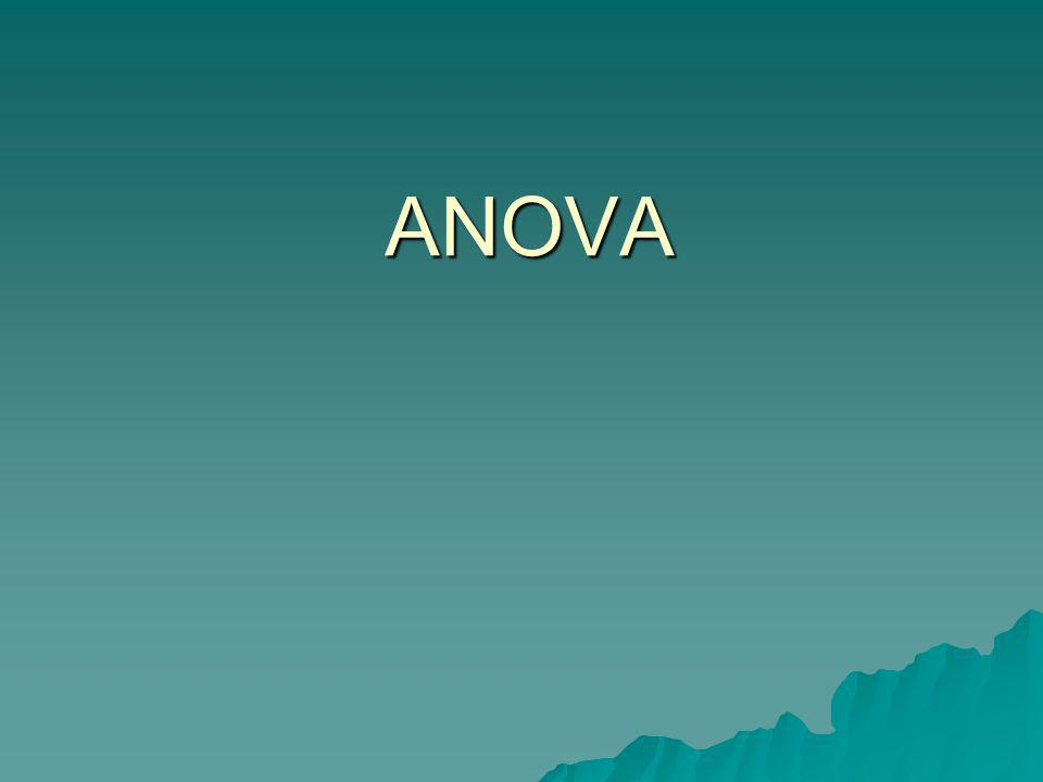 ANOVA