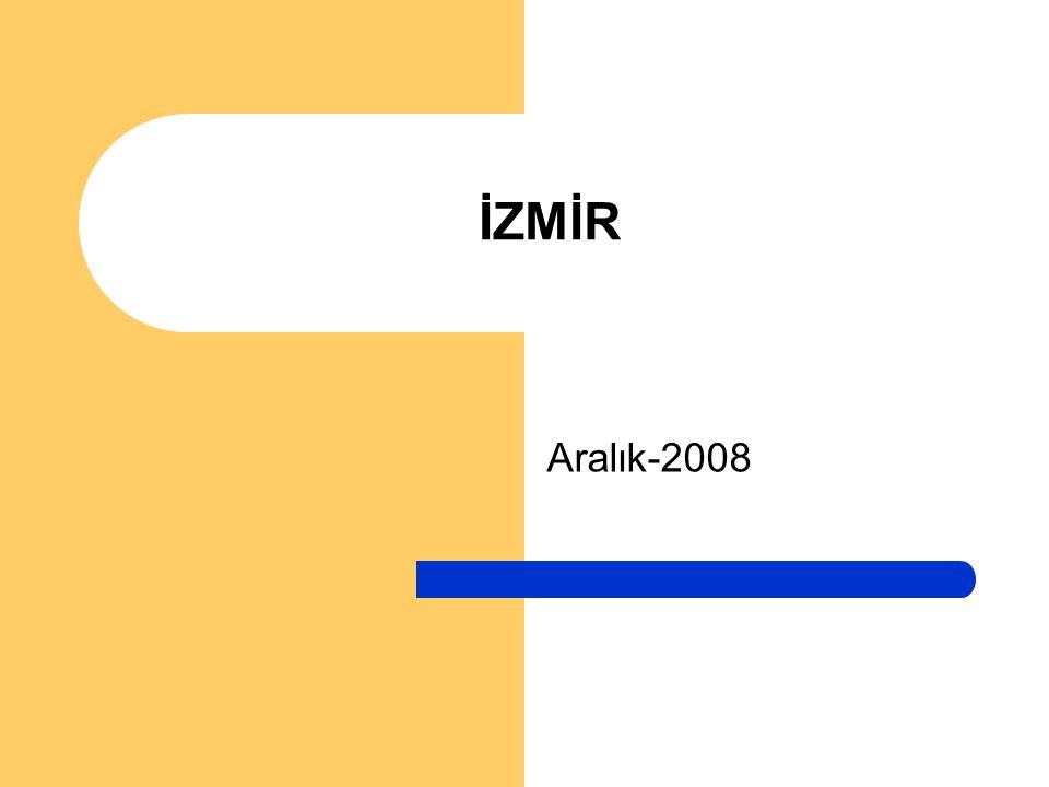 Aralık-2008 İZMİR