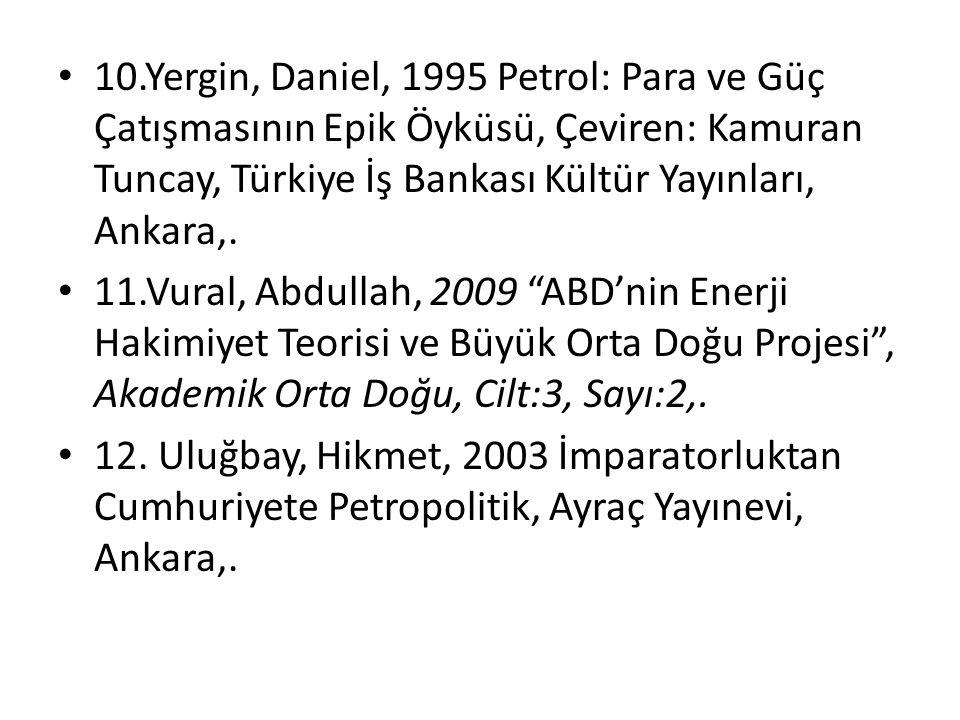 Diğer yandan, arama ve çıkarmadaki kolaylık ve maliyet düşüklüğü gibi sebeplerle Orta Doğu petrolleri, II.