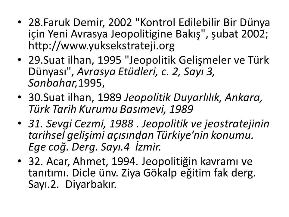 28.Faruk Demir, 2002