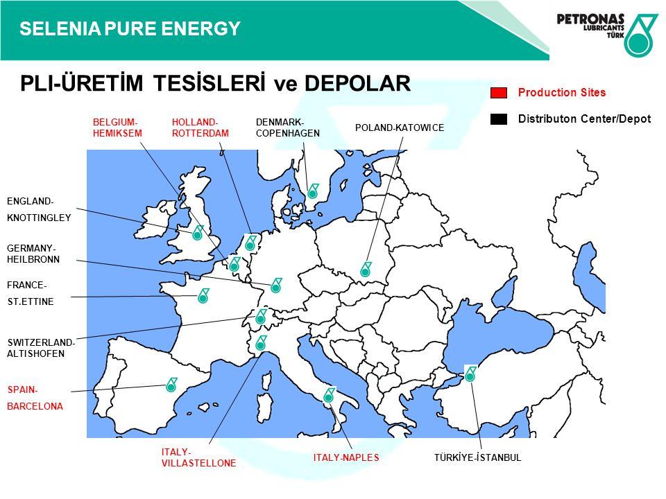 SELENIA PURE ENERGY Selenia WR Pure Energy, çok modern dizel motorların ihtiyaçlarına cevap vermek için formüle edilmiş sentetik motor yağıdır.