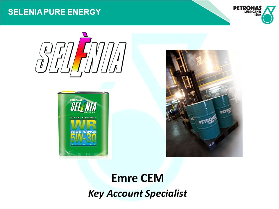 SELENIA PURE ENERGY Emre CEM Key Account Specialist
