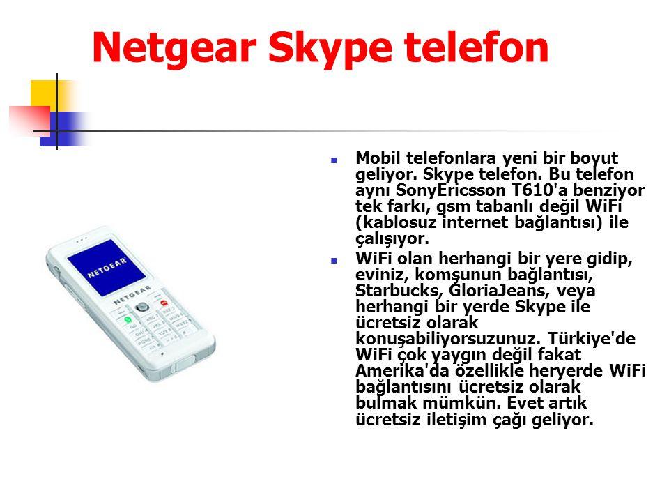 Netgear Skype telefon Mobil telefonlara yeni bir boyut geliyor.