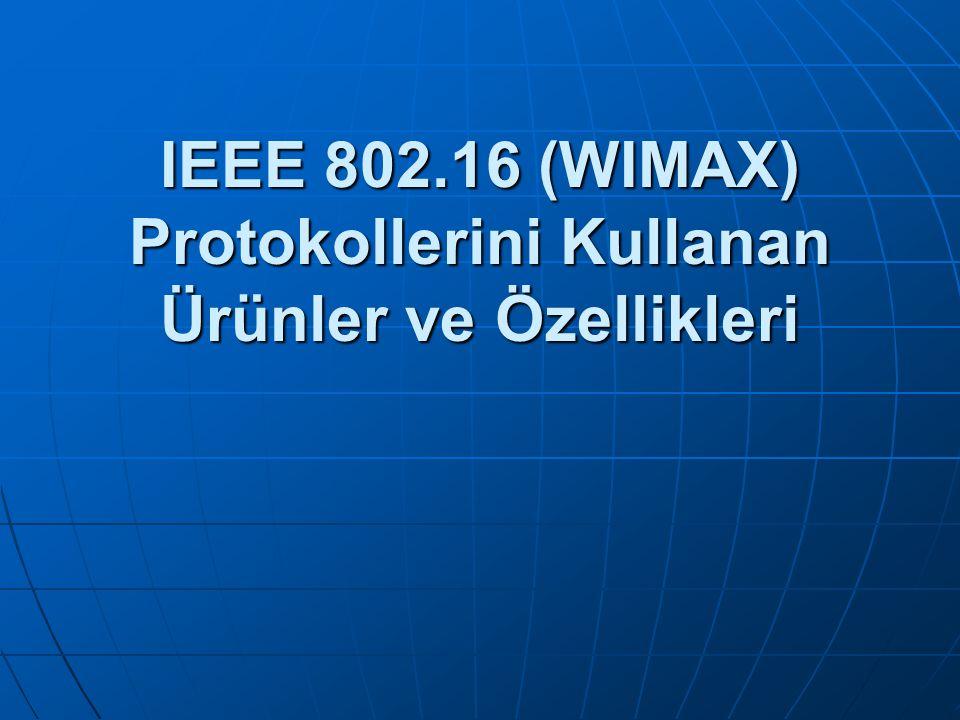 Wimax nedir.IEEE'nin 802.16 kablosuz iletişim standardı şartnamesine dayanan yeni bir standarttır.