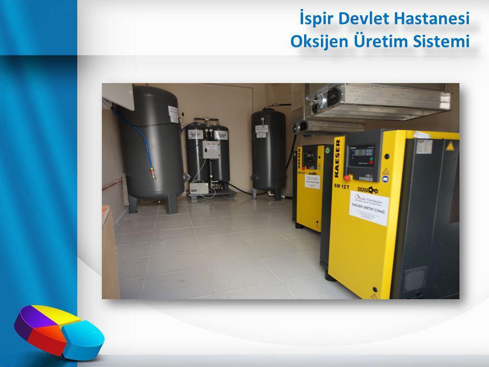İspir Devlet Hastanesi Oksijen Üretim Sistemi