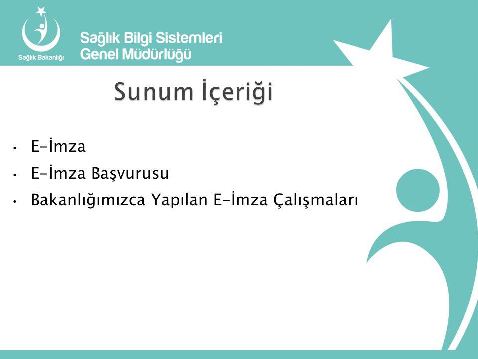 Herkesin sağlıklı ve müreffeh yaşadığı bir Türkiye için Tüm Paydaşlarıyla Elektronik Haberleşen Bir Sağlık Bakanlığı