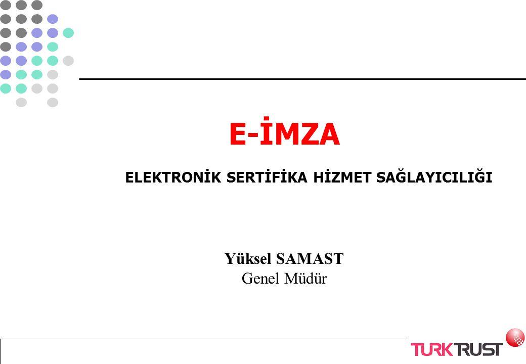 Niçin elektronik imza.