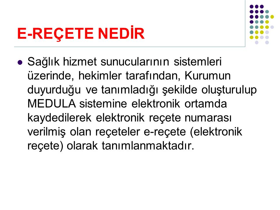 Elektronik reçete olarak yazılmayacak ilaçlar/ilaç grupları hangileridir.
