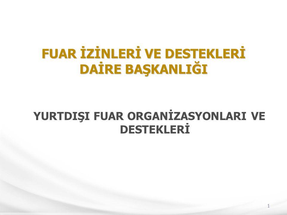 42 GENEL FUARCILIK POLİTİKAMIZ