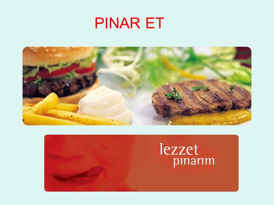 2011 yılında ana ürün segmentleri bazında satışlar 2011 yılında Pınar Et in net satışları %8,7 oranında büyüme göstermiştir.