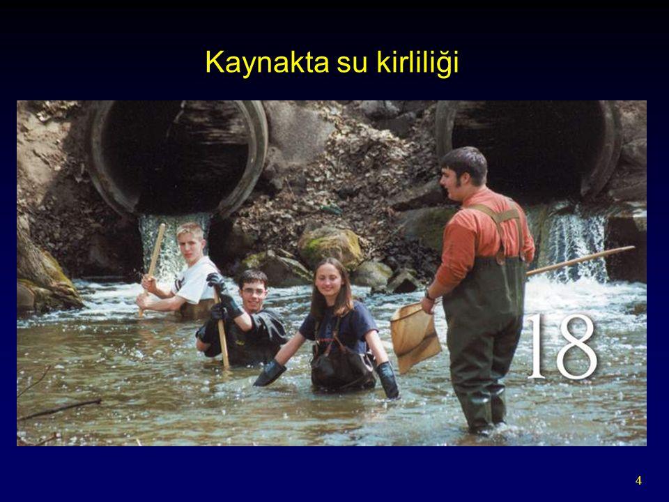 4 Kaynakta su kirliliği