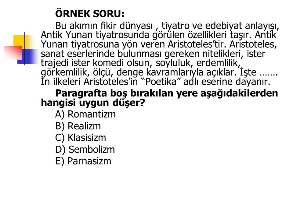 ÖZELLİKLERİ 1.