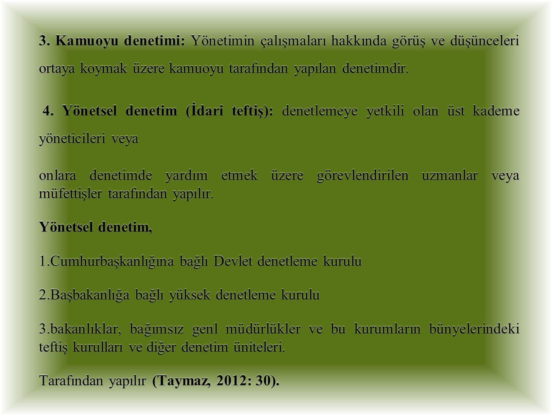 Denetim aslında; Latince (audire) Ingilizce (audit: işitmek, incelemek, anlamak) http://www.yazgili.com/index.php/tag/operasyonel/