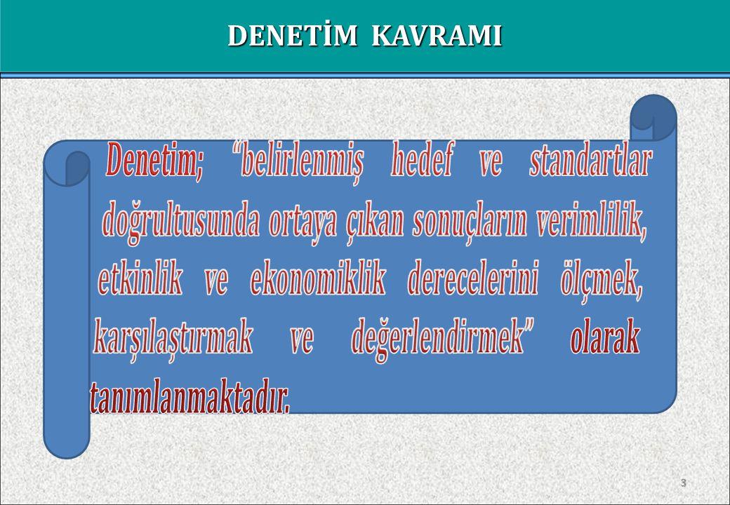 2 SUNUM PLANI I- DENETİM KAVRAMI II- 663 SAYILI KHK'DA DENETİM III- KAMU VE ÖZEL SAĞLIK KURULUŞLARINDA SAĞLIK BAKANLIĞI DENETİMİ VE İNCELEMELER - Düzenlilik Denetimi - Performans Denetimi - İnceleme ve Soruşturmalar
