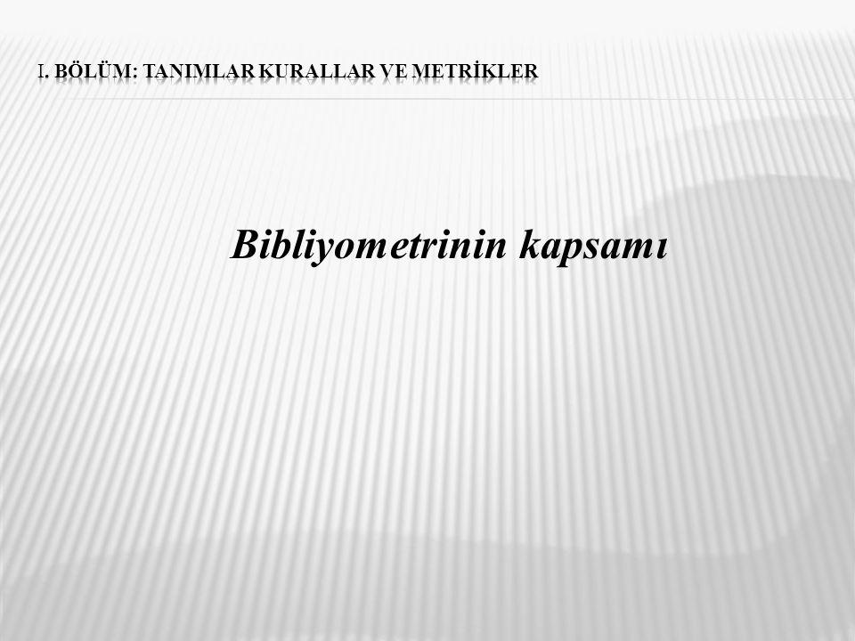 Enformetri; Enformetri sadece belgeler ve bibliyografyalarla değil, her türlü formdaki bilginin sayısal durumunu inceler.