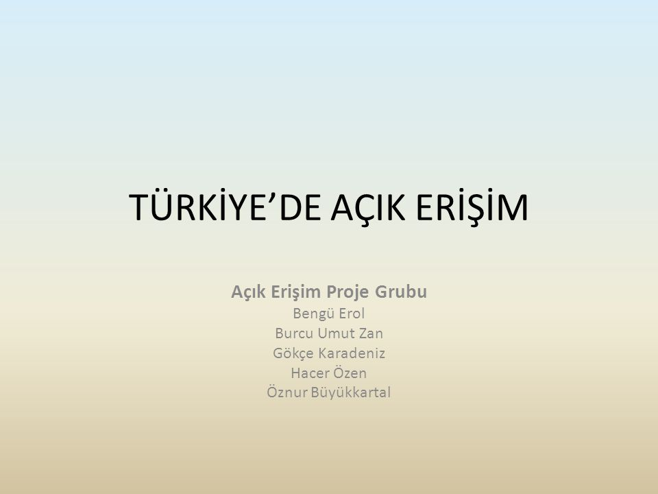 MİTOS Ankara Ü.Bahçeşehir Ü. İYTE Atatürk Ü. Atılım Ü.