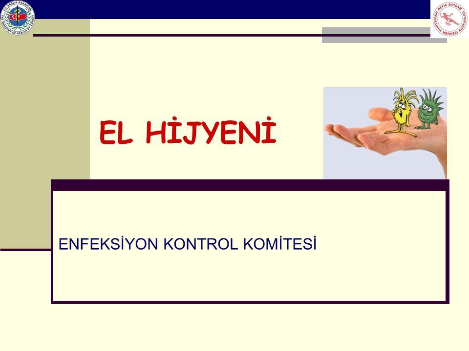 Sağlık Bakanlığı Enfeksiyon Kontrol Hemşireliği Eğitimi Etkili el yıkama Avuç içi avuç içine alınarak ovalama hareketi tekrarlanır