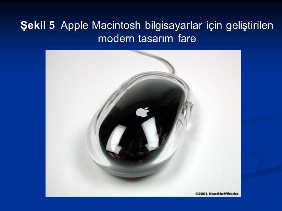 Şekil 5 Apple Macintosh bilgisayarlar için geliştirilen modern tasarım fare