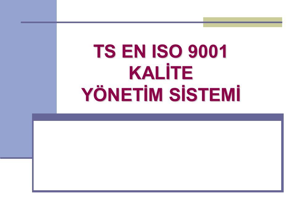 4- KALİTE YÖNETİM SİSTEMİ 4.2.3: DOKÜMANLARIN KONTROLÜ Kalite yönetim sistemi tarafından gerekli görülen dokümanlar kontrol edilmelidir.
