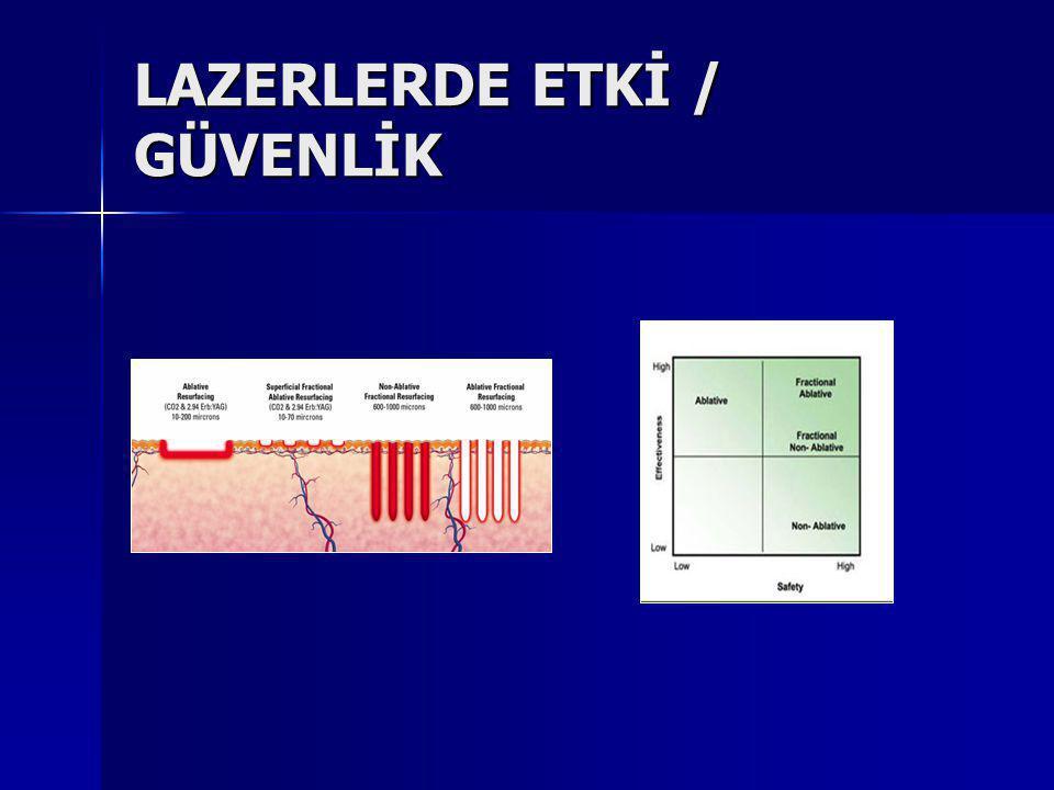 LAZERLERDE ETKİ / GÜVENLİK
