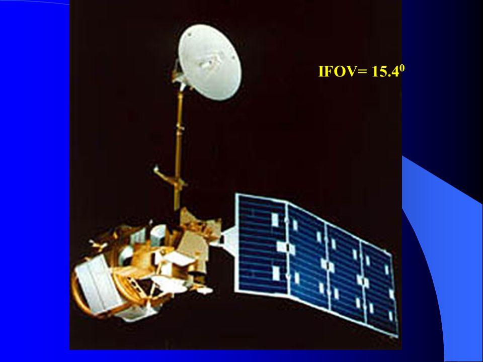IFOV= 15.4 0