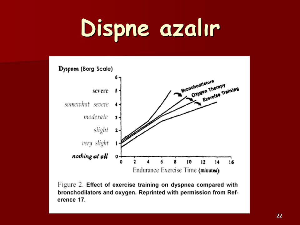 22 Dispne azalır