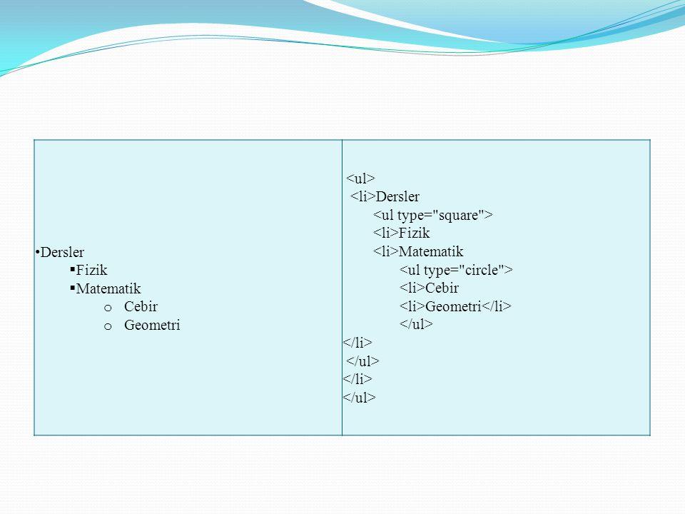 Açıklama listesi CD ROM Her ………………….. CD ROM Her ……………………