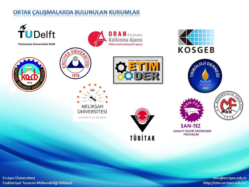 Erciyes Üniversitesi Endüstriyel Tasarım Mühendisliği Bölümü etm@erciyes.edu.tr http://etm.erciyes.edu.tr/