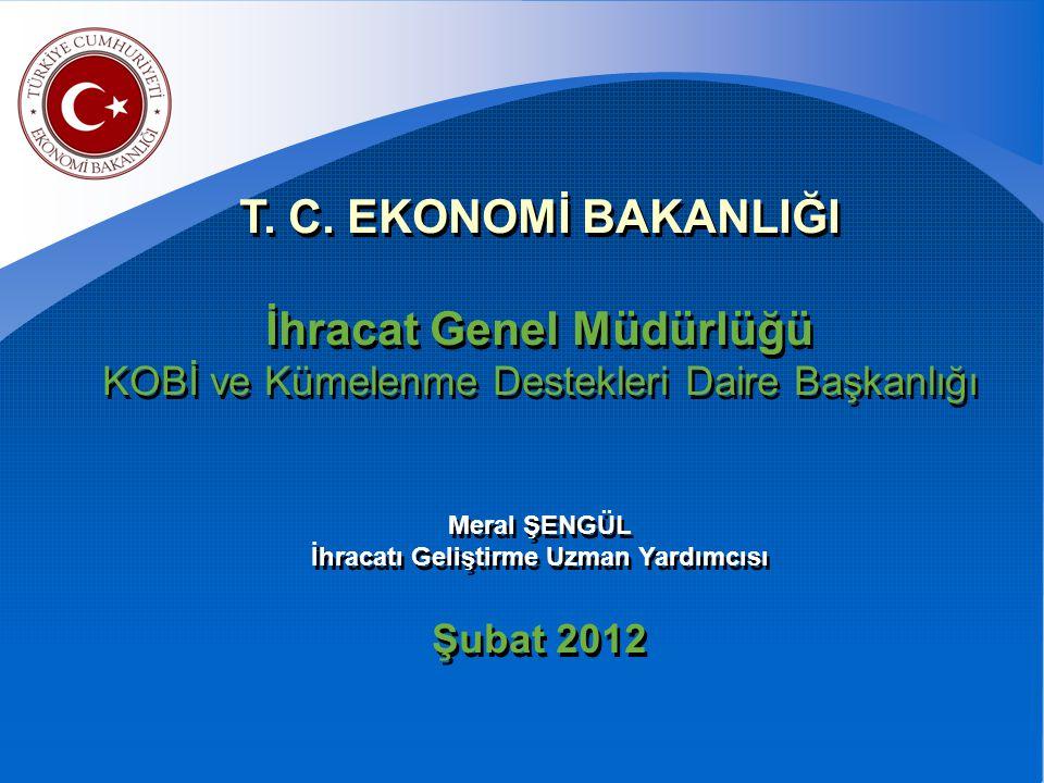 2011/1 Sayılı Pazar Araştırması ve Pazara Giriş Desteği 2010/8 Sayılı Uluslar arası Rekabetçiliğin Geliştirilmesi Desteği 97/5 Sayılı Çevre Maliyetleri Desteği 2011/1 Sayılı Pazar Araştırması ve Pazara Giriş Desteği 2010/8 Sayılı Uluslar arası Rekabetçiliğin Geliştirilmesi Desteği 97/5 Sayılı Çevre Maliyetleri Desteği