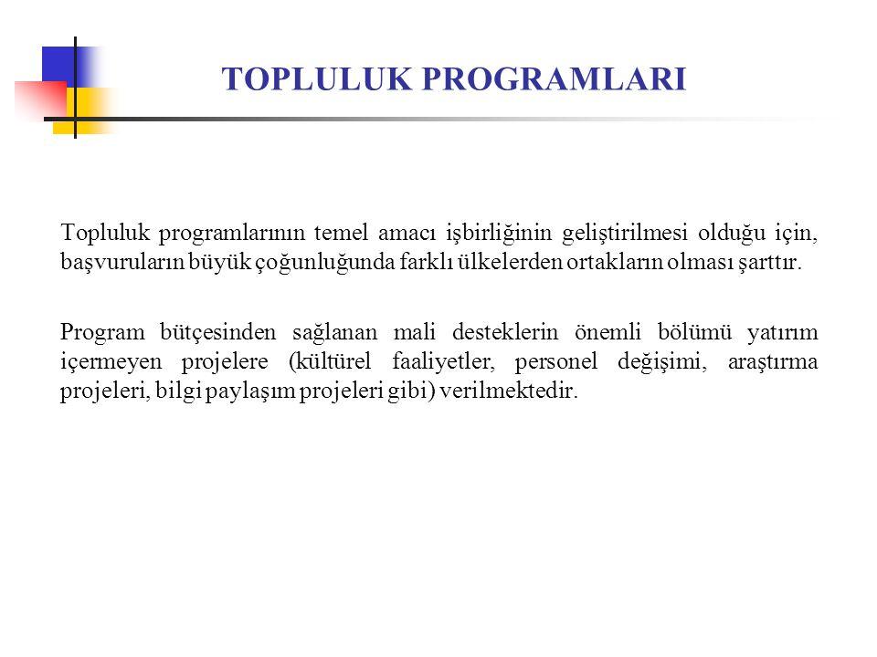 TÜKETİCİ POLİTİKASI ALANINDA TOPLULUK EYLEMİ http://ec.europa.eu/consumers/tenders/information/index_en.htm 2009 Yılı Öncelikleri: Tüketicinin Korunmasına İlişkin Kanunları Uygulayacak Otoriteler Arasında Ortak Faaliyetler Tüketicinin Korunmasına İlişkin Kanunları Uygulayacak Otoriteler Arasında Personel Değişimi