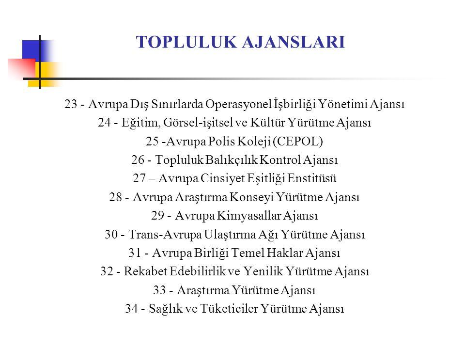 AVRUPA DEMİRYOLU AJANSI 2004/881/AT sayılı Tüzük ile kurulmuştur.