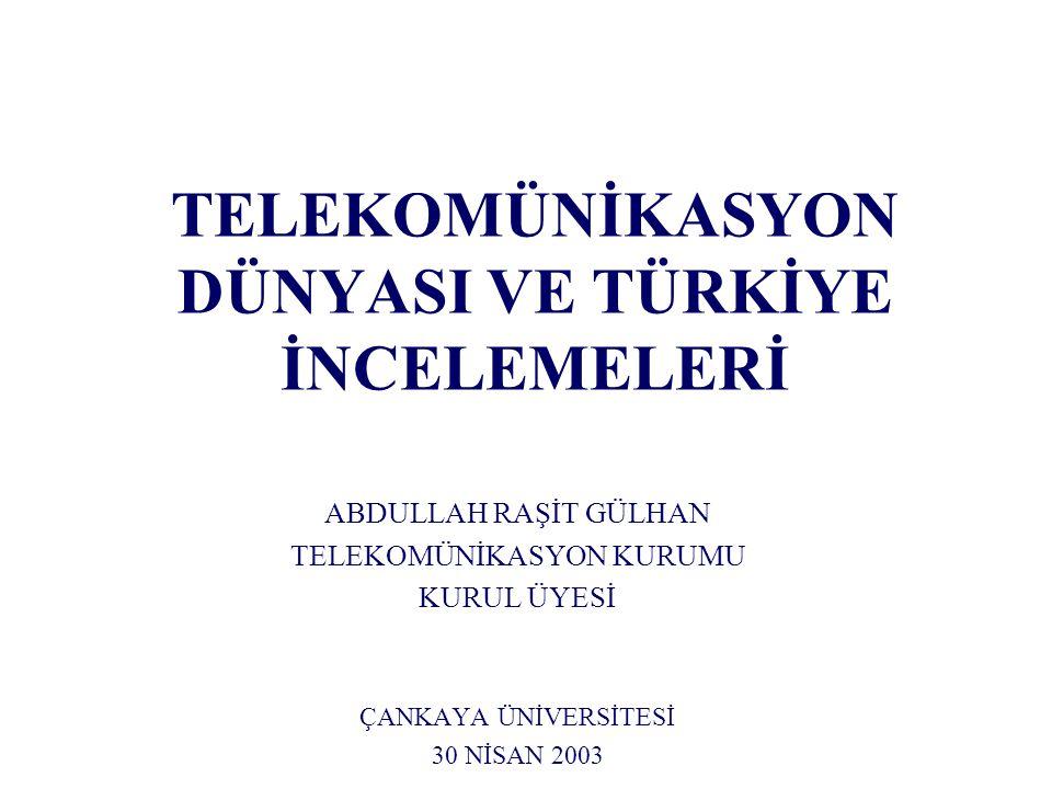 Türkiye 'de Tekelin Kaldırılmasının Etkileri (1) Türk Telekom A.Ş.'ye Etkileri Türk Telekom tarifelerinin yerel görüşmede maliyet altında olmasından dolayı meydana gelebilecek fiyat artışları olumsuz bir hava yaratabilir.
