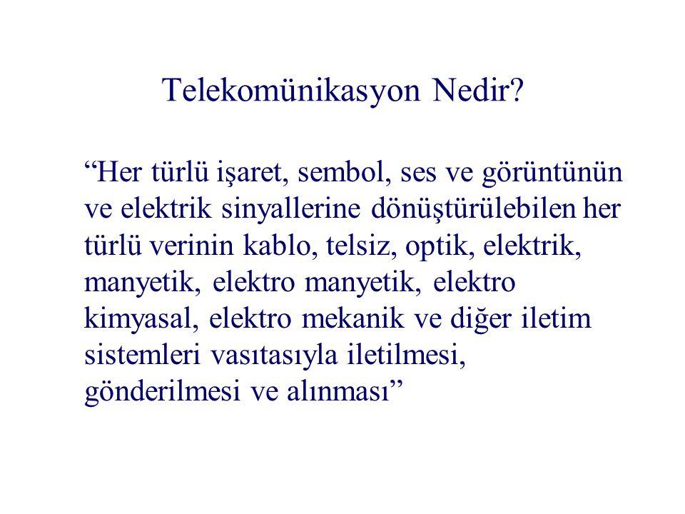  Telekom yatırımı / GDP –Türkiye: % 0.5'in altında –Çek Cumhuriyeti: % 2 –Portekiz ve Macaristan: % 1'in üstünde –Polonya ve Yunanistan: % 1 civarında Karşılaştırmalı analiz