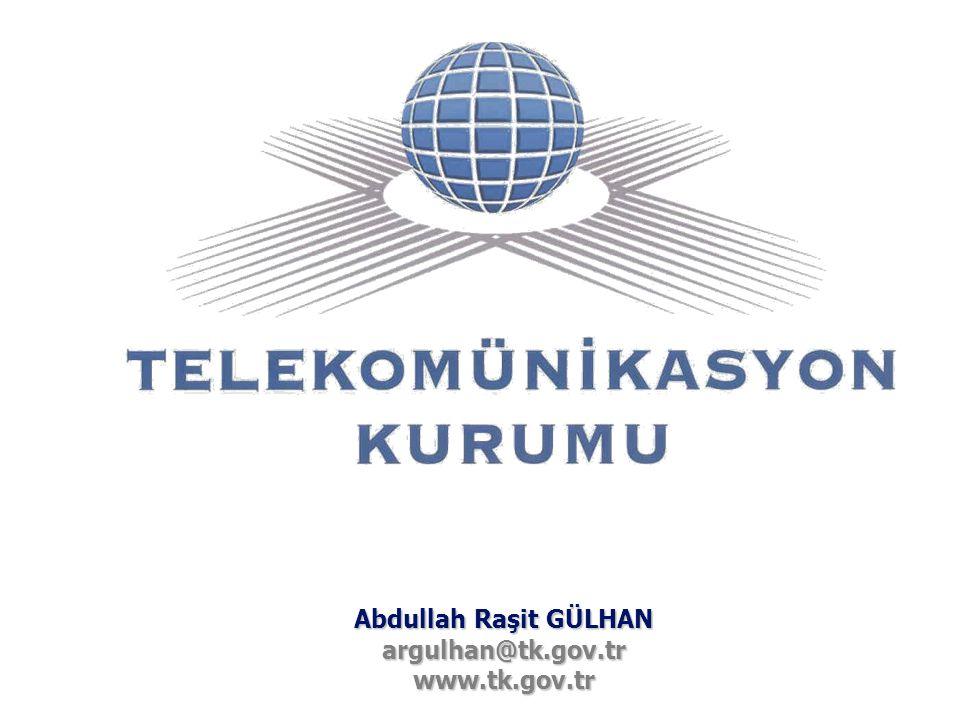 Abdullah Raşit GÜLHAN argulhan@tk.gov.tr www.tk.gov.tr